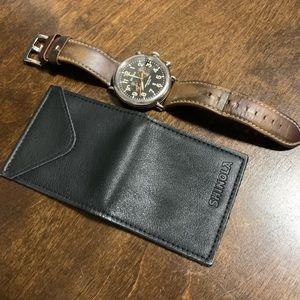 Shinola watch pouch